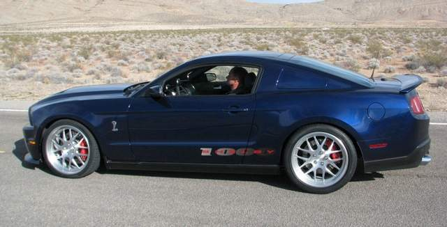 A new 1000 Horsepower Shelby Mustang hits the streets  North