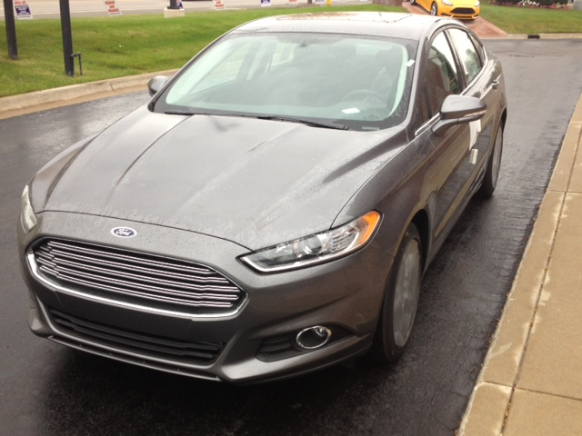 2013 Ford Fusion at North Brothers Ford