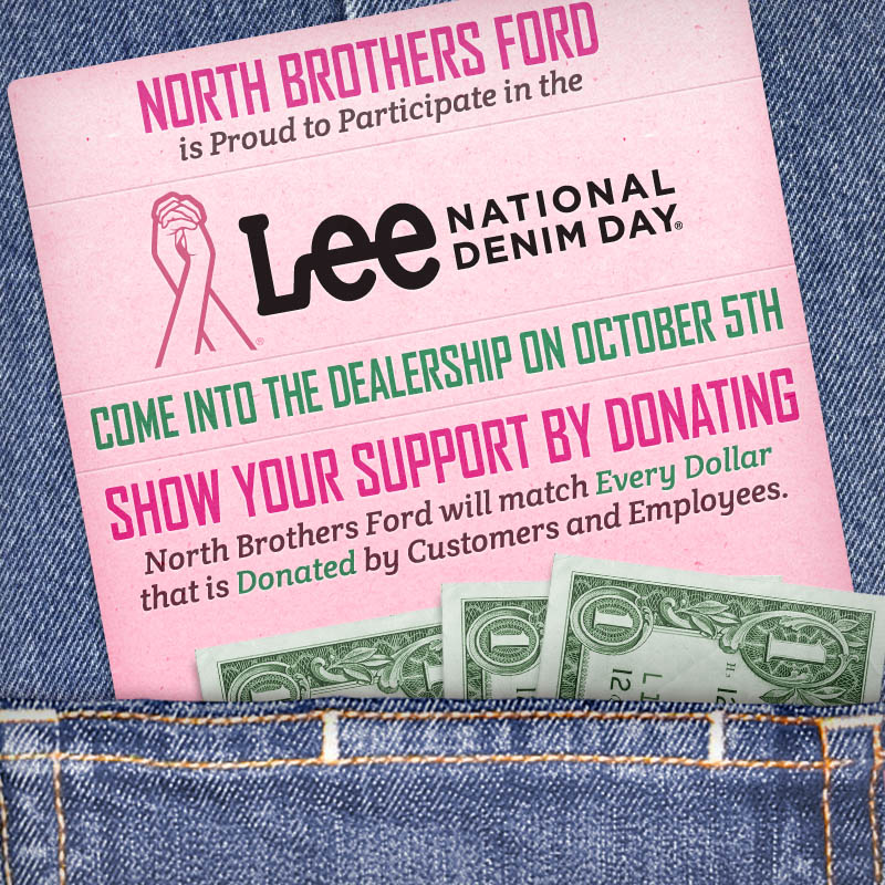 55ead524 North Brothers Chronicle: Lee National Denim Day at North Brothers Ford