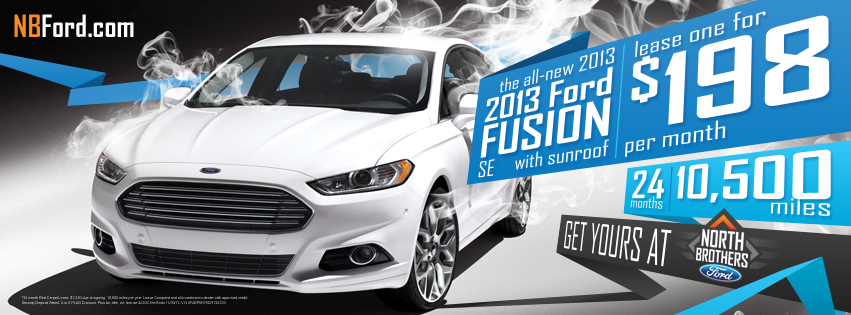 2013 Ford Fusion Deals!
