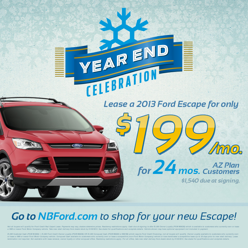 ford escape year end lease offers | north brothers chronicle