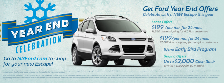 Ford Year End Celebration at North Brothers Ford