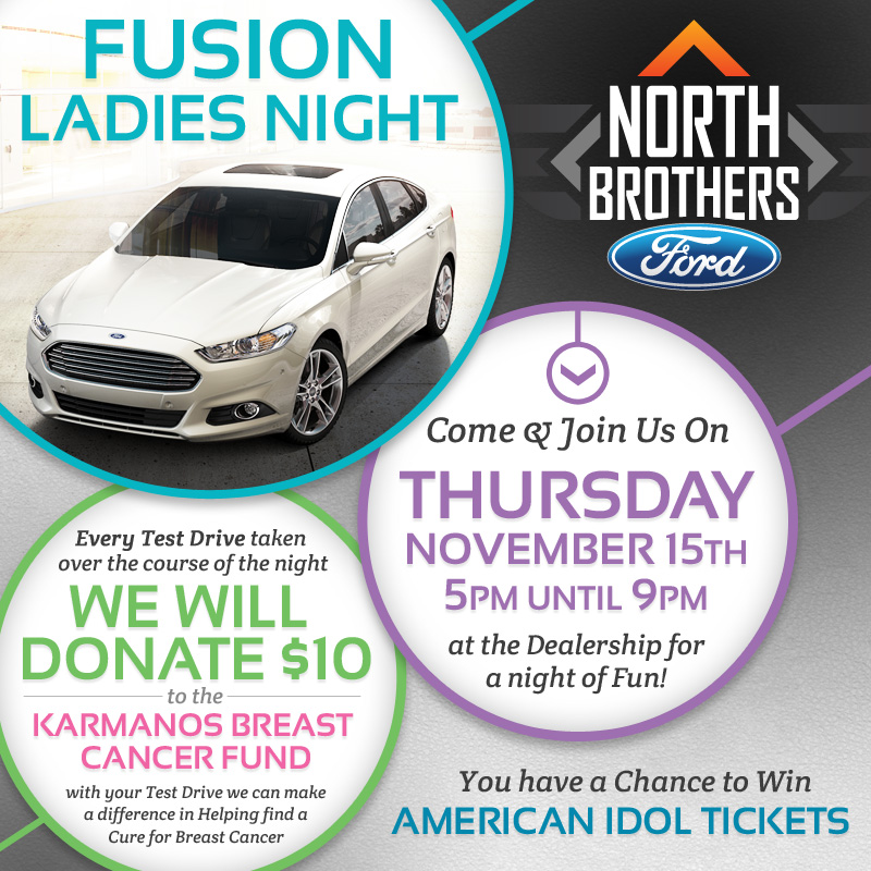 Fusion Ladies Night at North Brothers Ford