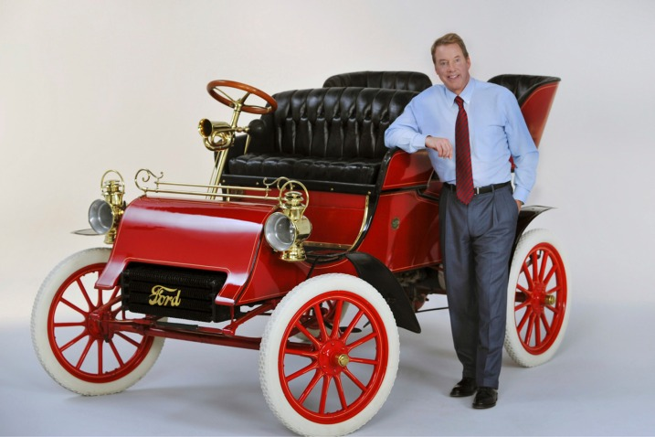 1903 Model A Back with Ford Family
