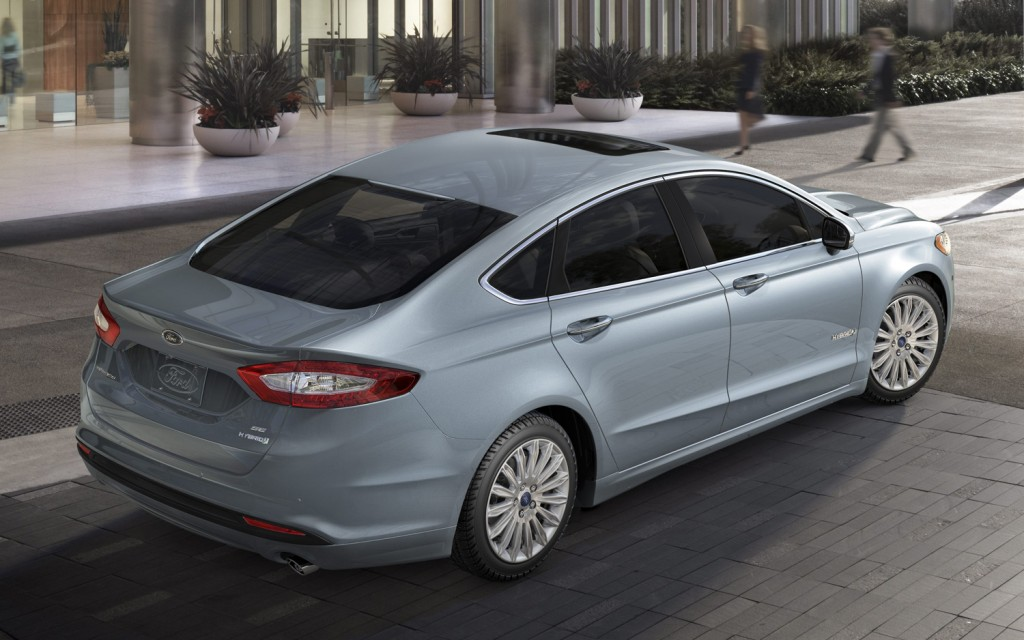 2013 Ford Fusion Lower Repair Costs