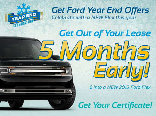 Early Bird Lease Turn In - Ford Flex