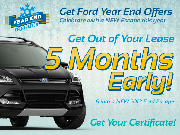 Ford Escape Early Bird Lease Turn In at North Brothers Ford