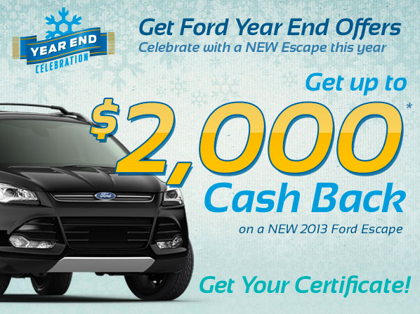 Ford Year End Escape Clearance