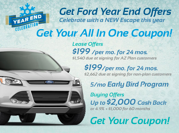Ford Year End Incentives at North Brothers Ford