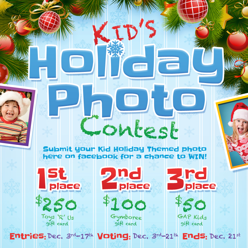 Kids Holiday Photo Contest Going On Now!
