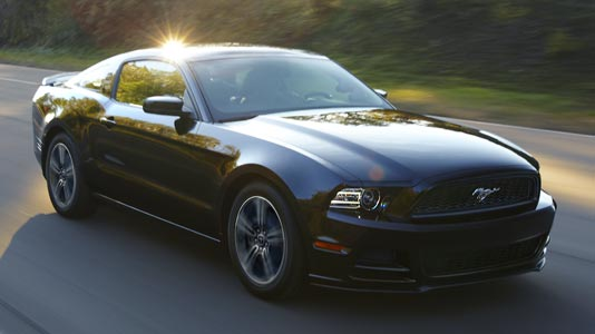 2013 Ford Mustang - Most Researched Car of 2012