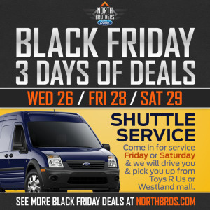 Black Friday Weekend at North Brothers Ford